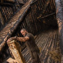 """Russell Crowe is Noah in """"Noah,"""" from Paramount Pictures and Regency Enterprises."""