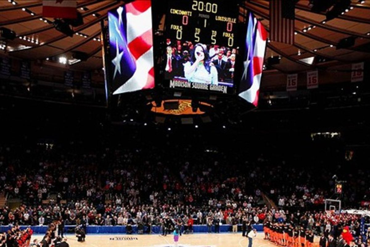 Will it soon be Xavier under the bright lights at Madison Square Garden?