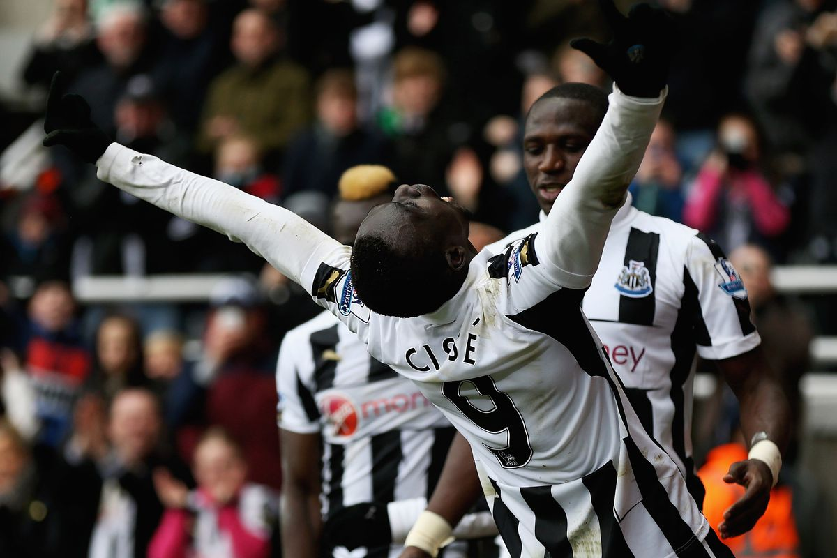 Yeah, Papiss... it felt like that for all of us.