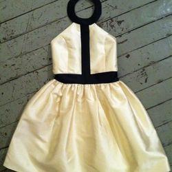 Shareen Cameron dress, around $200 at Shareen, 8377 W 3rd St