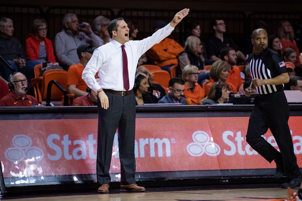 NCAA Basketball: Iowa State at Oklahoma State