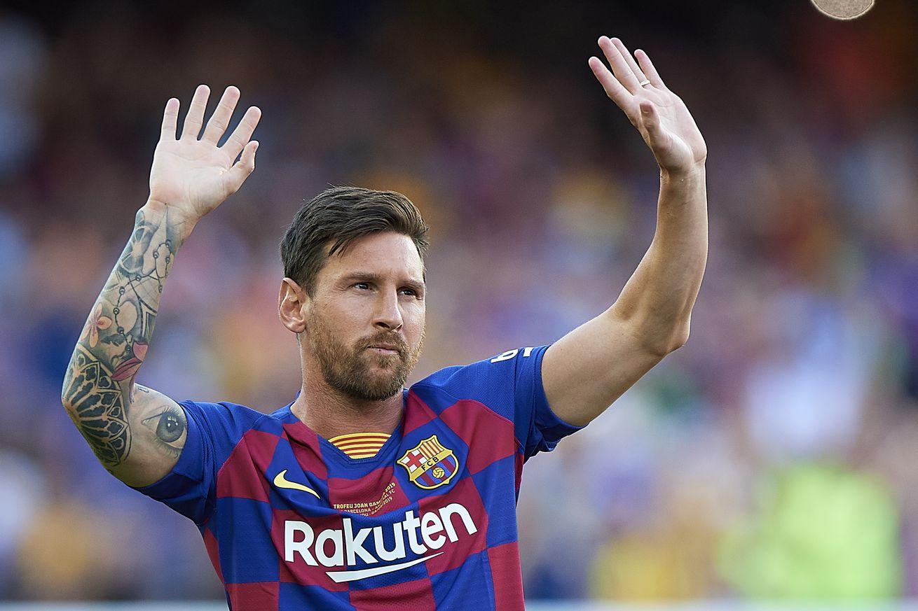 Messi is Barcelona, Barcelona is Messi