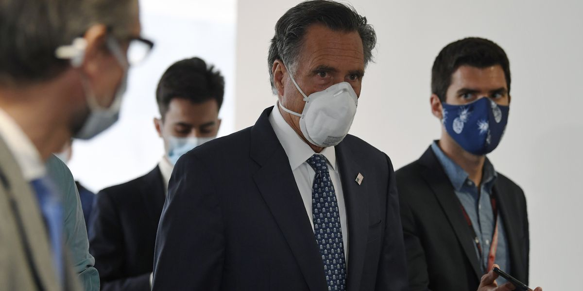 Mitt Romney sponsors bill to prepare country for future pandemics