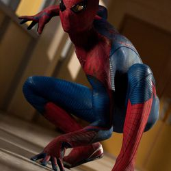 """Andrew Garfield stars as Spider-Man in Columbia Pictures' """"The Amazing Spider-Man."""""""
