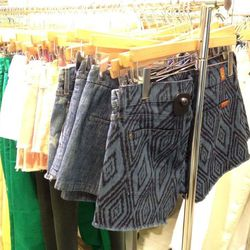 Seven for all Mankind printed cutoffs, $59.50