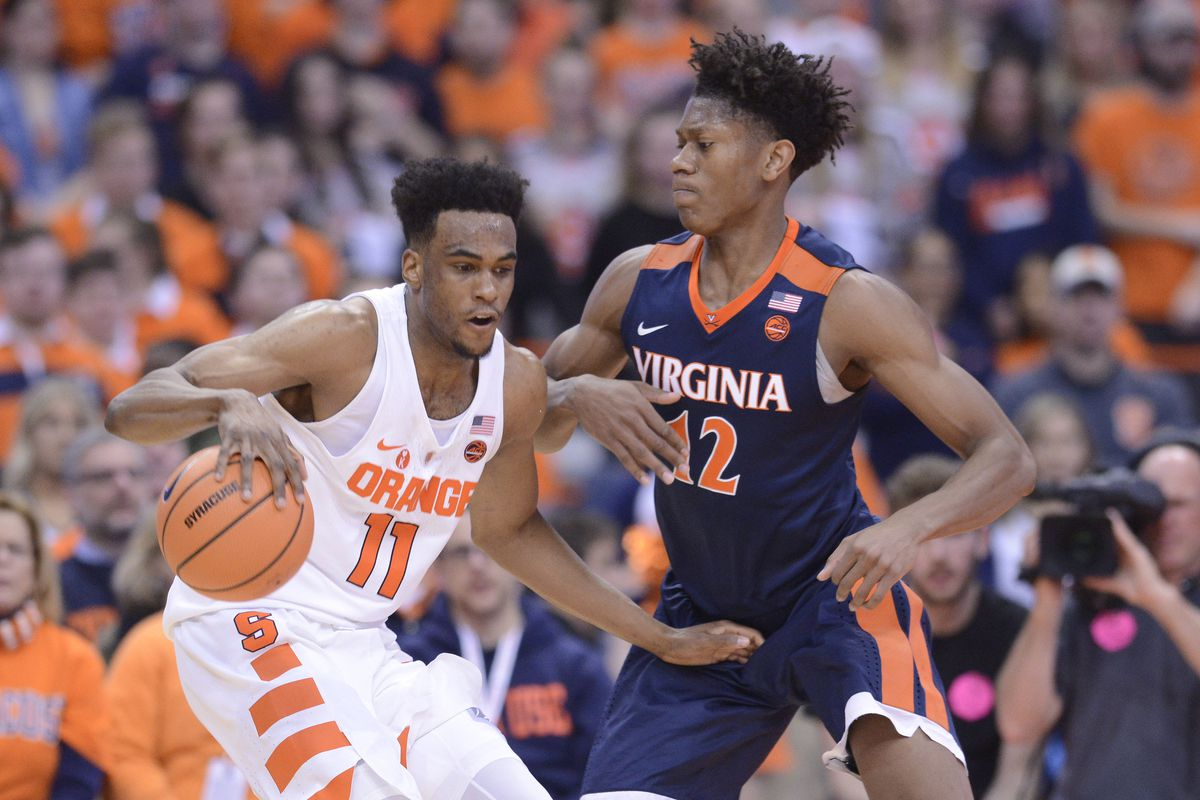NCAA Basketball: Virginia at Syracuse