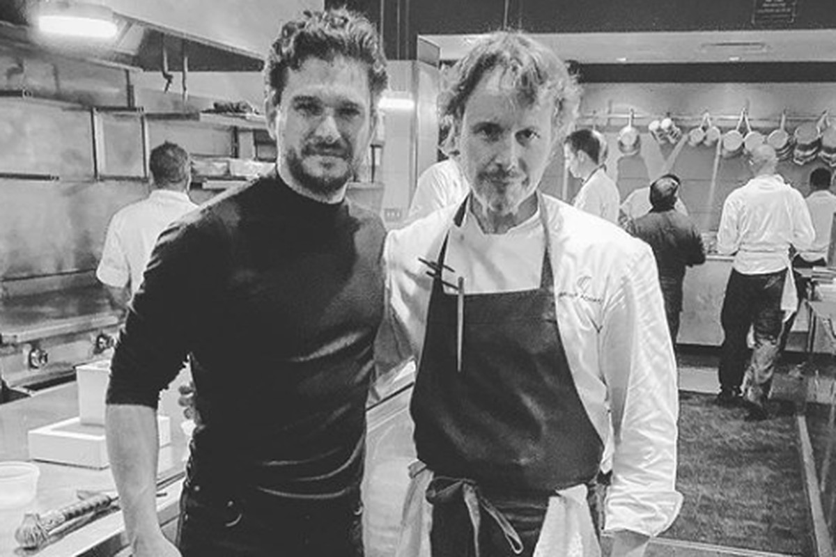 Kit Harrington visits Alinea in Chicago for a 'Game of Thrones'-themed meal
