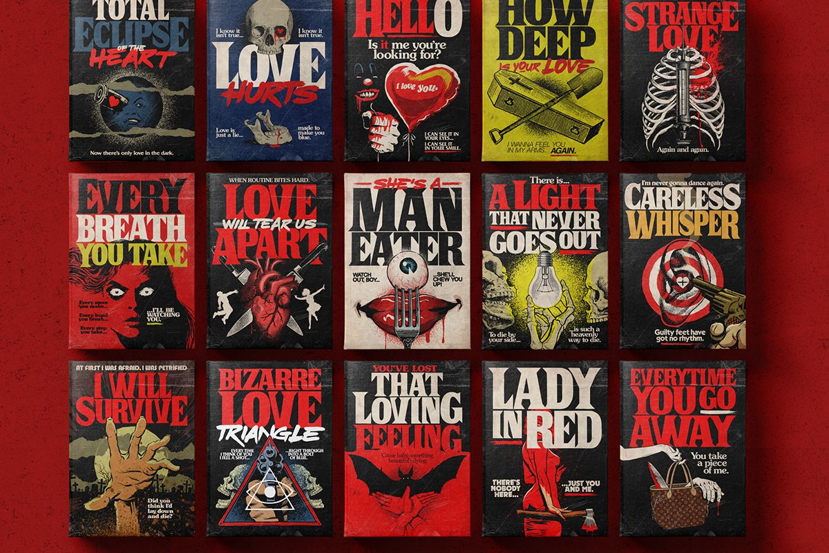 Stephen King Book Cover Art ~ Stephen king and classic love songs are a match made in