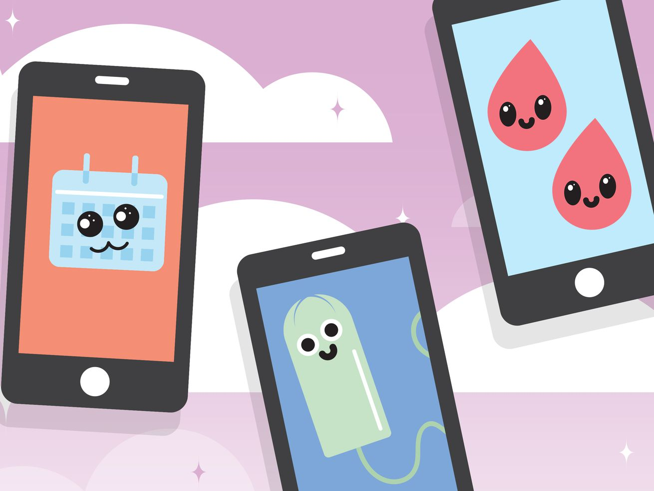 Period tracker apps put a happy, not-so-useful face on menstruation.