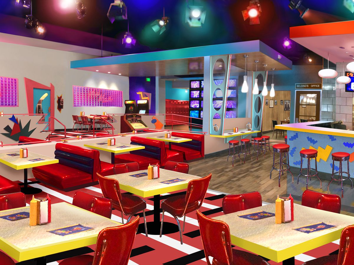 Heres What That Saved By The Bell Pop Up In West Hollywood Will Look Like Plus A Burger Flipping Robot Malfunction And Winning Wine At Bestia