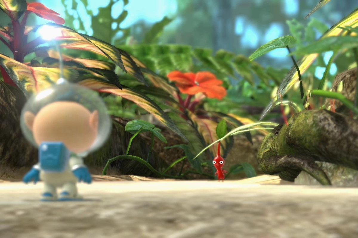 Pikmin 3 Update Adds Gamepad Control Style Polygon