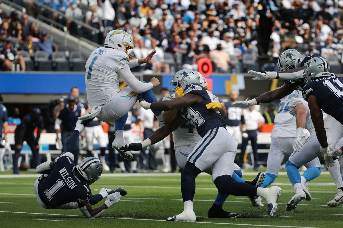 Chargers vs Dallas Cowboys in Inglewood, CA.