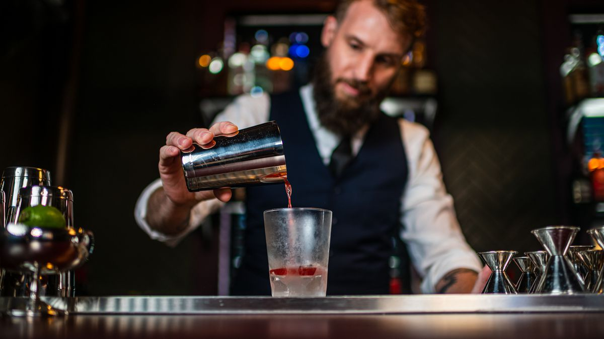 O.K.P.B. owner David Strauss is back behind the bar