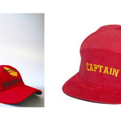"""The Expected: Mount Gay Rum Hats (which should only be for racers <i>after</i> the event!) – The Update: <b>Bodega</b> Captain Kirk High Snapback Cap, <a href=""""http://shop.bdgastore.com/products/captain-snapback-cap"""">$40.00</a>"""