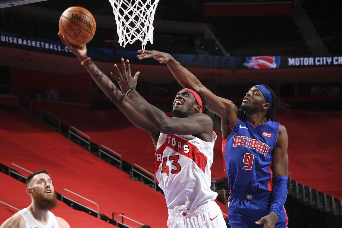 Five thoughts recap: Detroit Pistons 116, Toronto Raptors 112