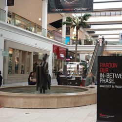 Westfield Fashion Square's first floor