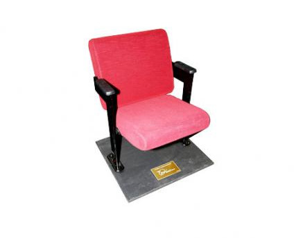 A typical chair being auctioned off.