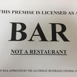 Utah bars must display a sign like the one pictured starting May 9, 2017, as part of a new state law.