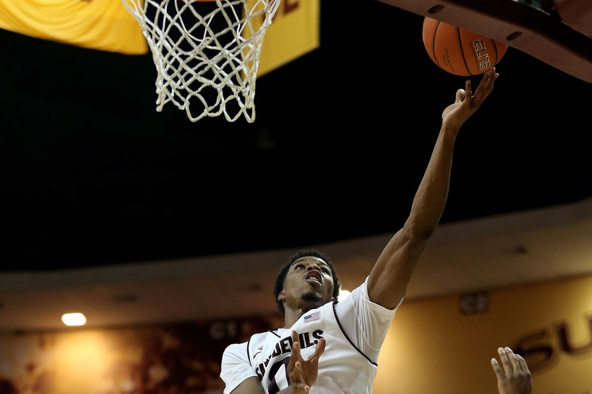Senior Carrick Felix had 23 points and 11 rebounds in the Sun Devil victory.