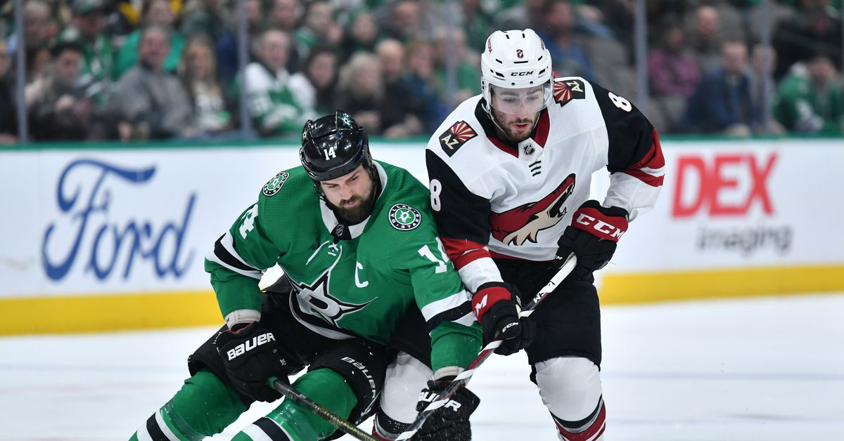 Stars Top Coyotes, And Jamie Benn Looks Headed For A DoPS Hearing