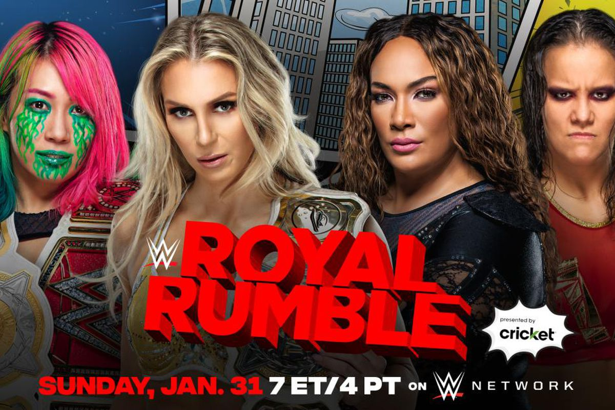 Asuka and Charlotte (c) vs Nia Jax and Shayna Baszler for the WWE Women's Tag Team Championships