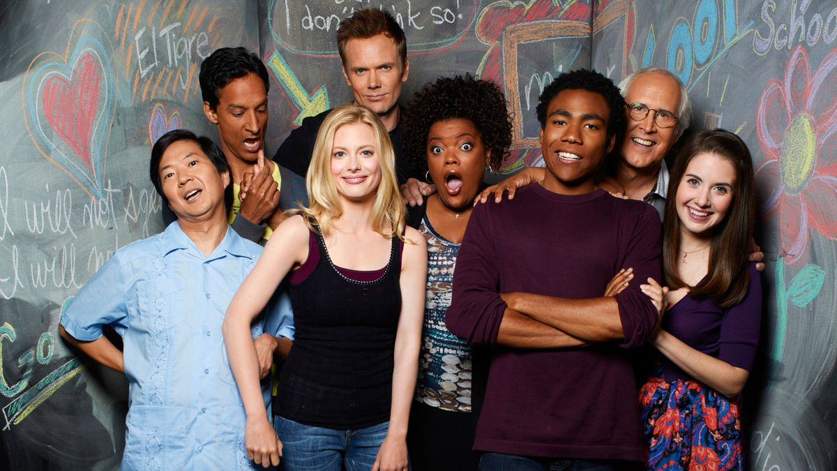 Cast of the TV show Community