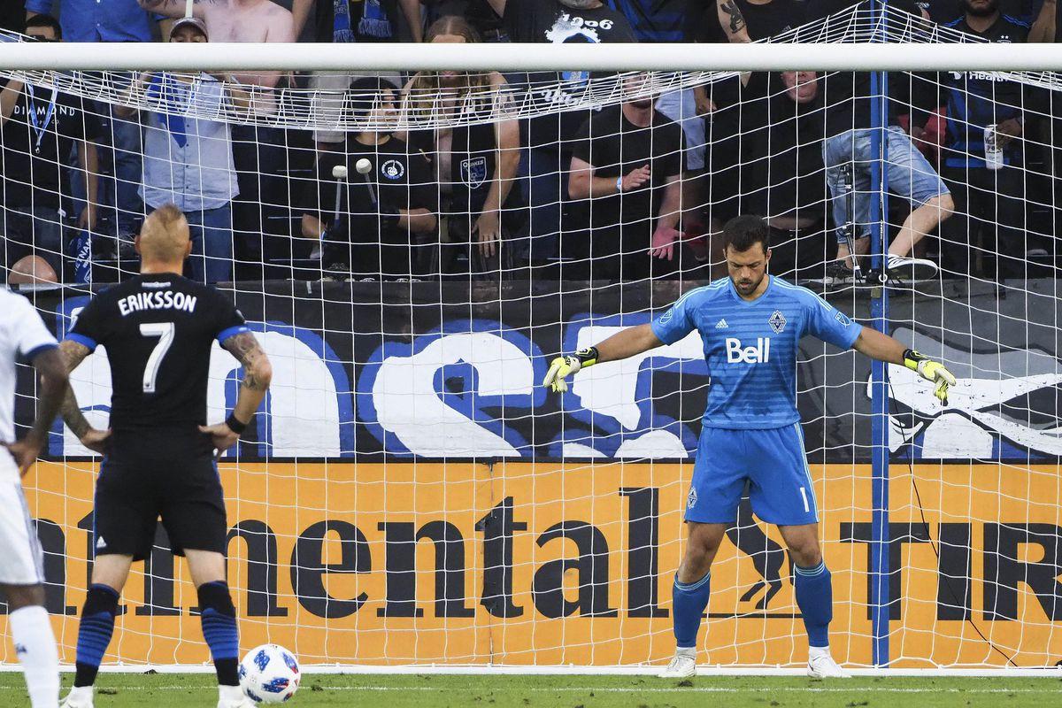MLS: Vancouver Whitecaps at San Jose Earthquakes