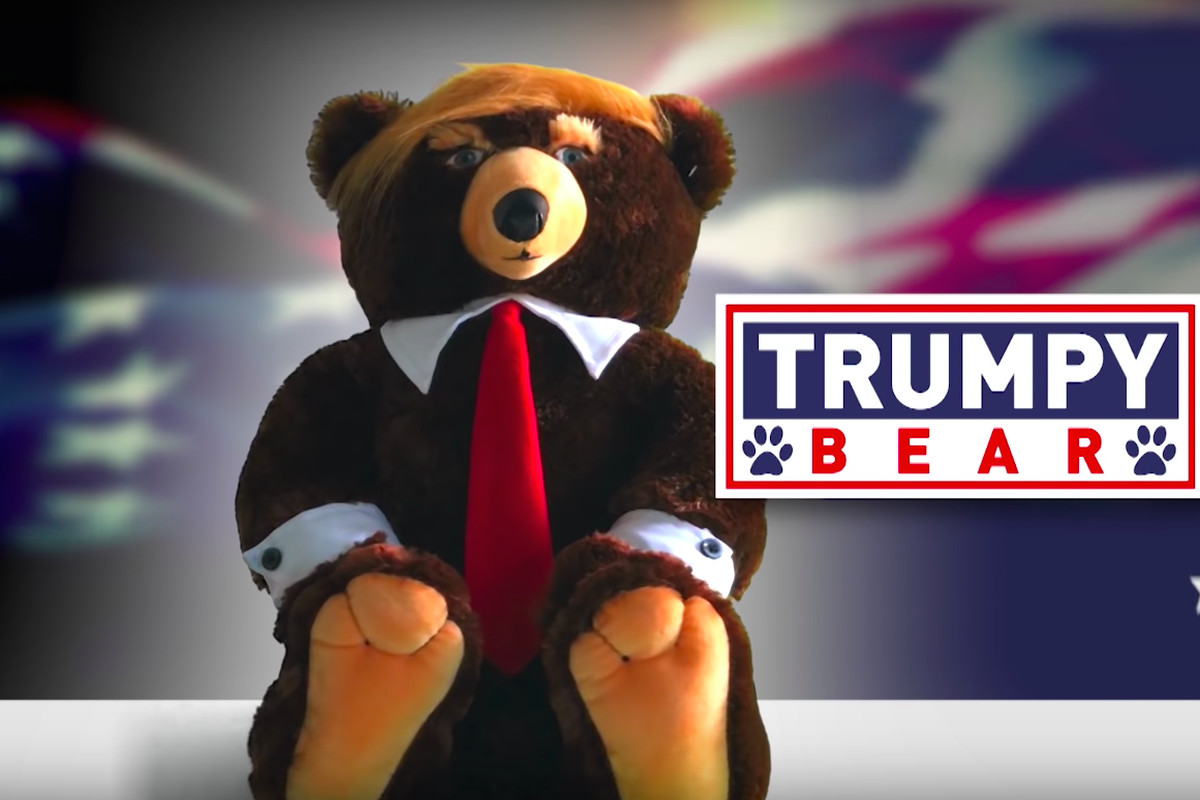 Image result for trumpy bear