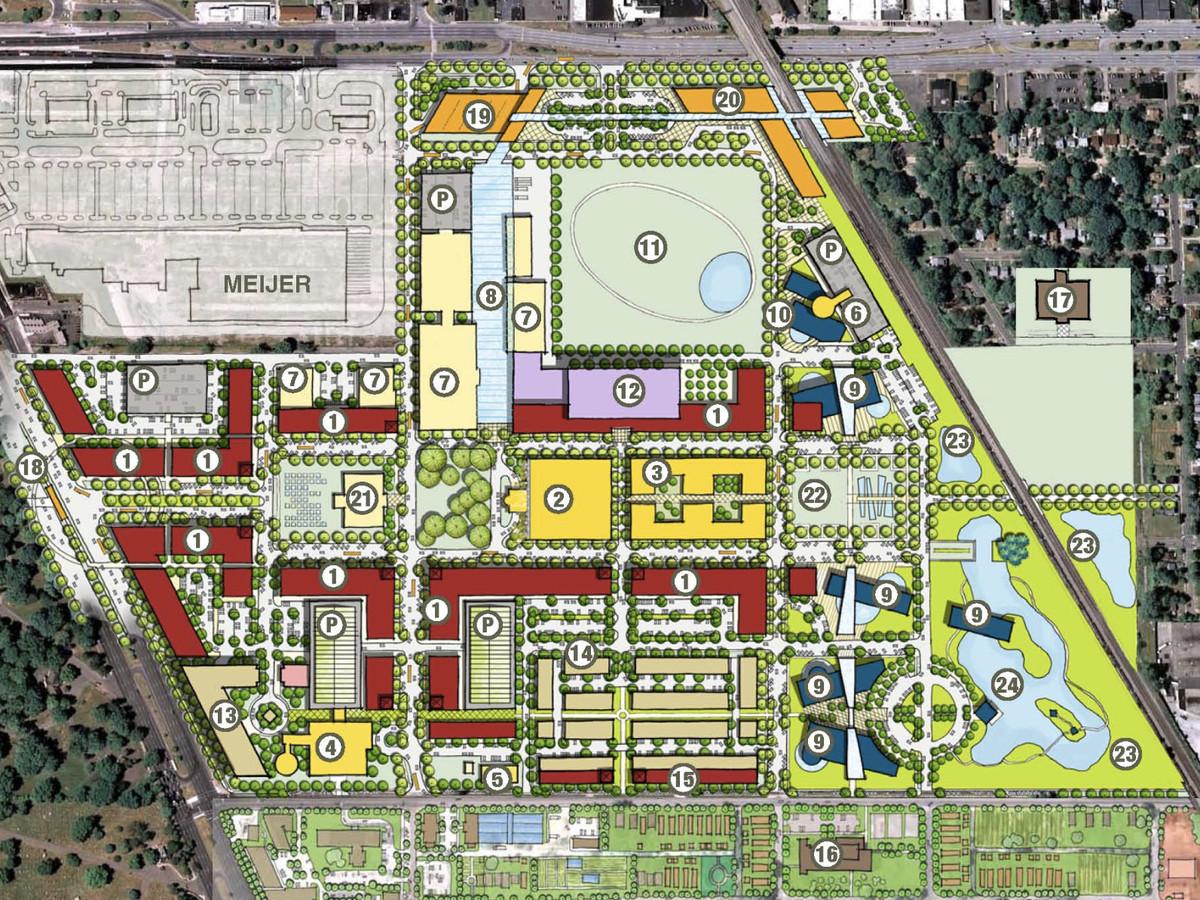 12 big developments set to transform Detroit - Curbed Detroit