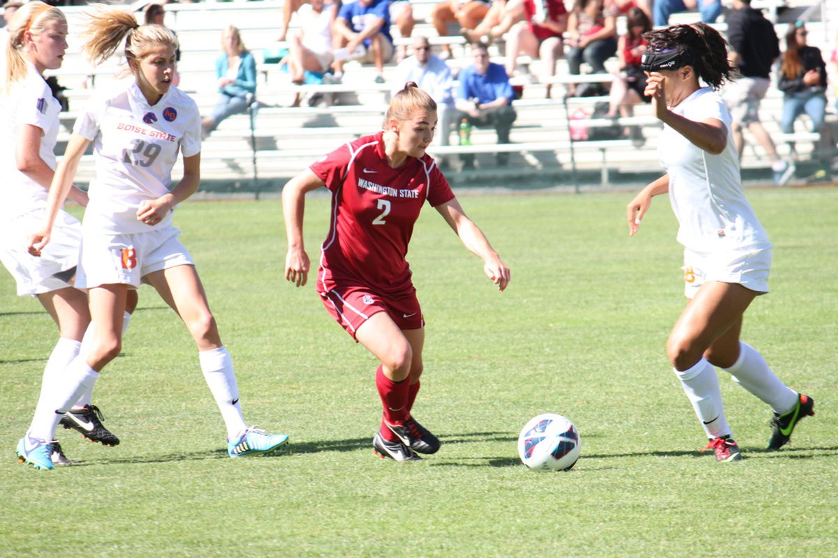 Brandi Vega needs to have a big game for the Cougs in Portland tonight.