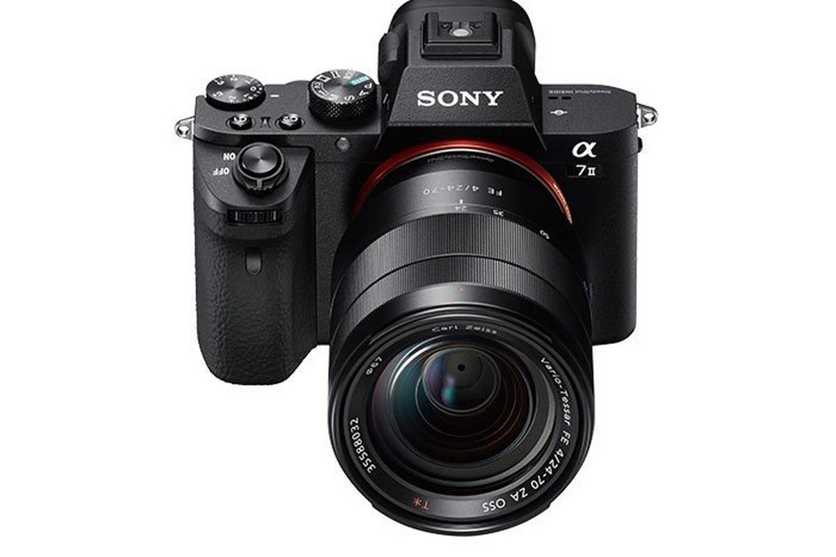 sony 39 s a7 ii mirrorless camera adds faster autofocus and. Black Bedroom Furniture Sets. Home Design Ideas