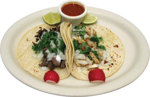 Tacos from Taqueria El Carrizal