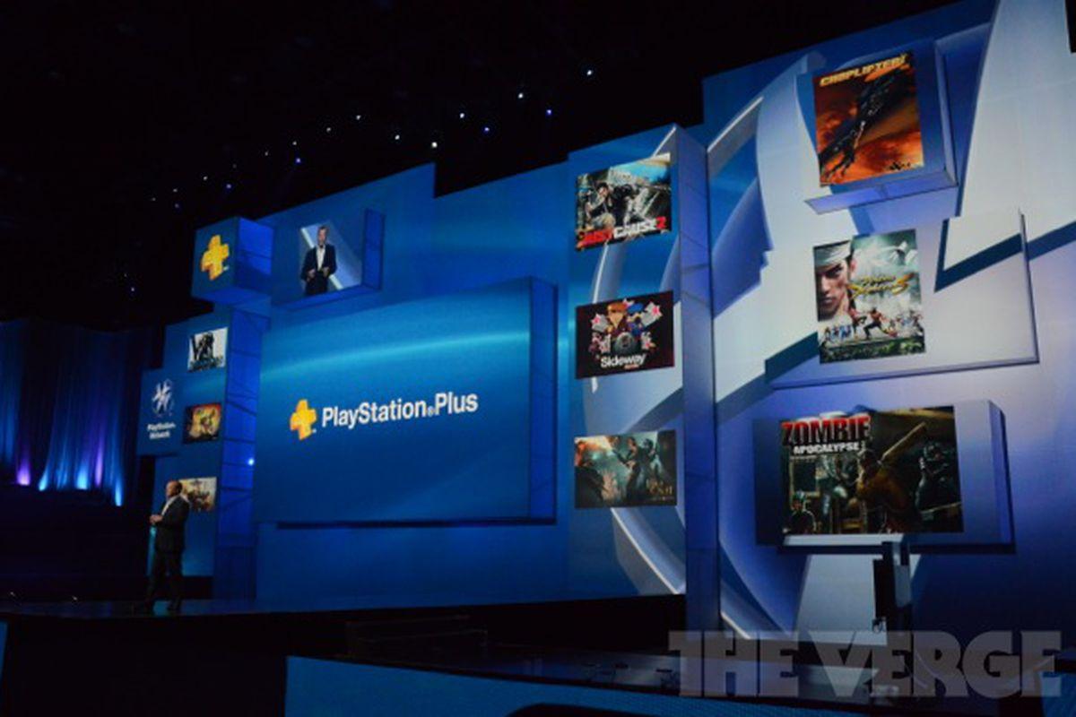 Sony PlayStation Plus E3