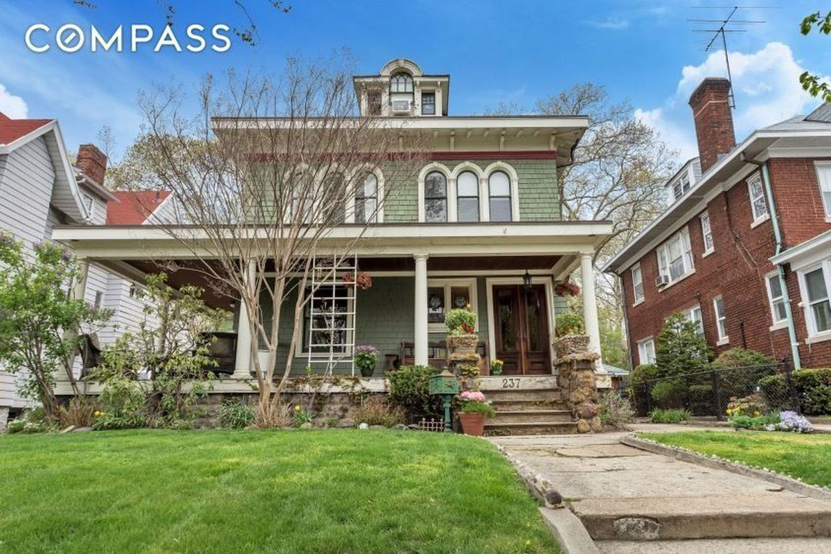Houses with wrap around porches -  To Create A List Of The Attributes Desired In A Brooklyn Dream Home This Detached Bay Ridge House Would Have Plenty Of Them Wrap Around Front Porch