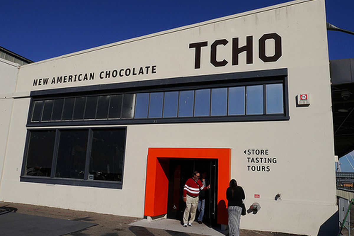 Tcho at Pier 17, soon to be no more.