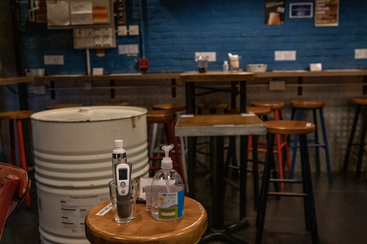 Hong Kong Shuts Bars And Pubs To Contain Spread Of The Coronavirus