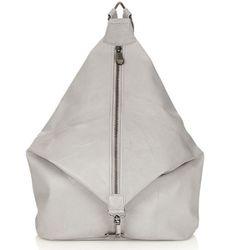 "<b>Topshop</b> Clean Clip Backpack in Grey, <a href=""http://us.topshop.com/webapp/wcs/stores/servlet/ProductDisplay?langId=-1&storeId=13052&catalogId=33060&productId=9693717&categoryId=210034&parent_category_rn=208705"">$160</a>"