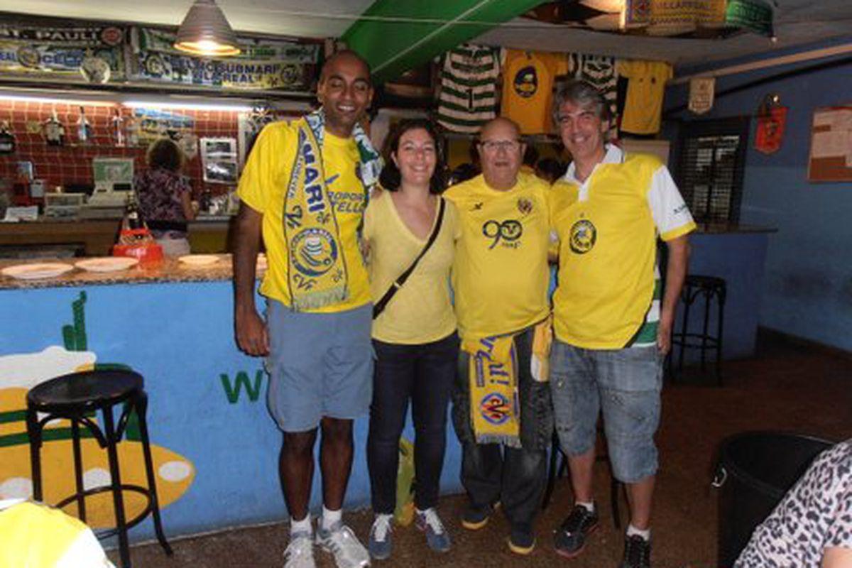 Ravi and Sarah with Celtic Submari member Robin and president Ernesto.