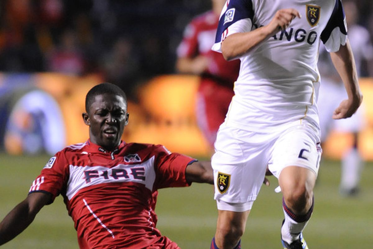 Real Salt Lake will face the San Jose Earthquakes on Saturday, expect Luis Gil to have a big match for RSL.  (Photo by David Banks/Getty Images)