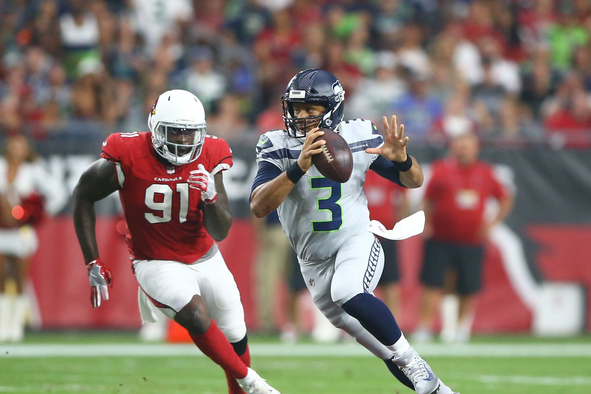 Image result for russell wilson cardinals