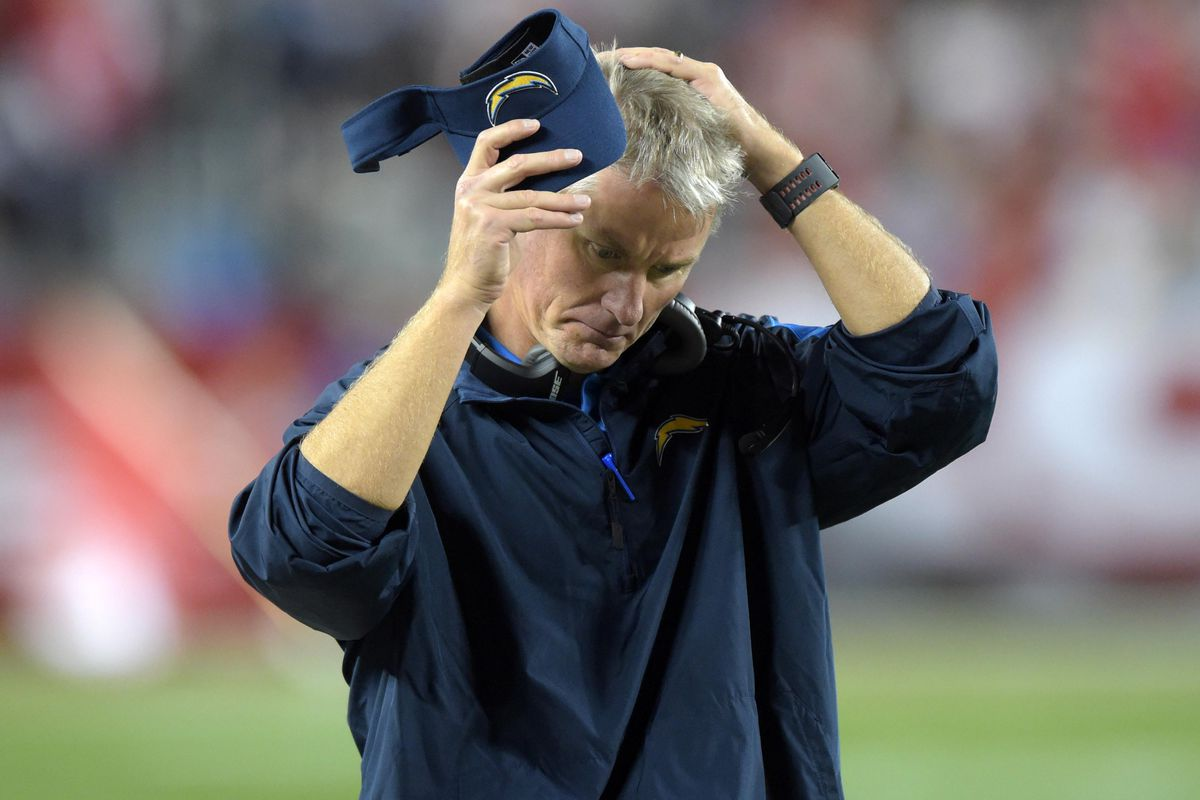 Mike McCoy during the Week 16 game against the San Francisco 49ers