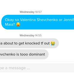 Shevchenko by KO was the top guess.