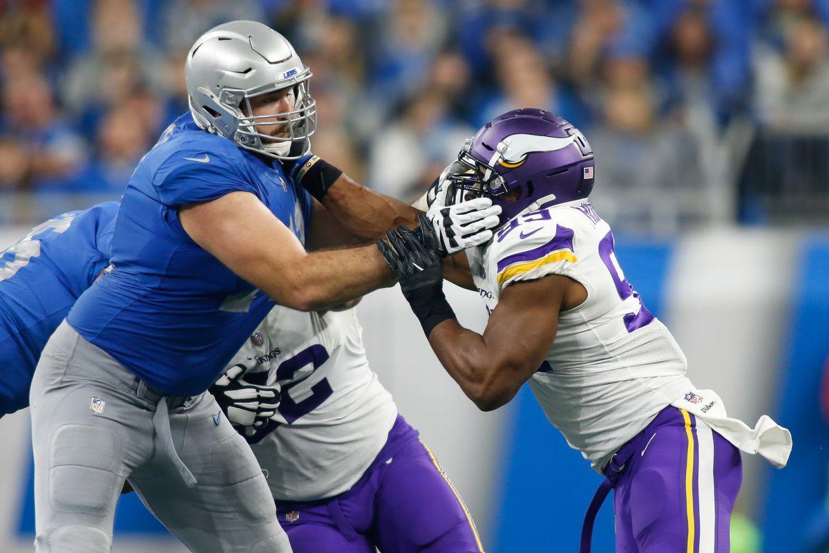 NFL: NOV 23 Vikings at Lions