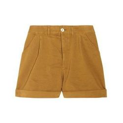 """<a href=""""http://www.net-a-porter.com/product/313561"""">Brushed-cotton twill shorts by <b>Levi's Made & Crafted</b>,</a> $75 (were $150)"""