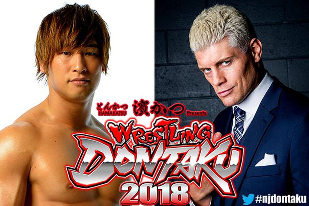 Wrestling Dontaku Results Cody Vs Ibushi Ii Cageside Seats