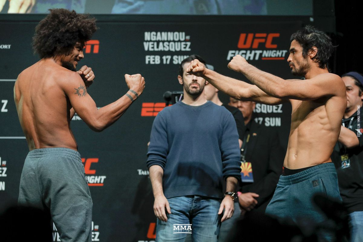UFC Phoenix live blog: Alex Caceres vs  Kron Gracie - MMA
