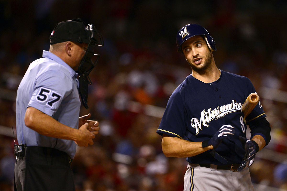 You have to fight for every inch.  Ryan Braun knows this.