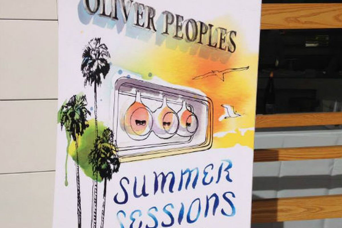 """Image via Oliver Peoples/<a href=""""https://www.facebook.com/photo.php?fbid=10152594061254314&amp;set=a.10152594061059314.1073741827.292865744313&amp;type=1&amp;theater"""">Facebook</a>"""