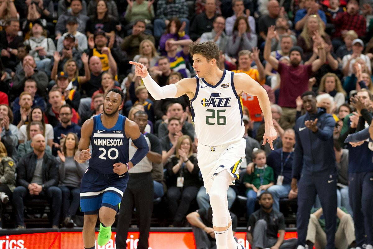 Non-Cavs we love: Kyle Korver is a human flamethrower - Fear