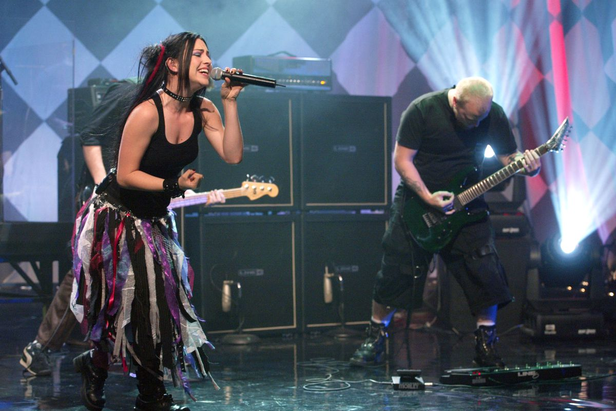 Evanescence Performs on The Tonight Show with Jay Leno